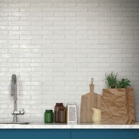 Brickart White Tile