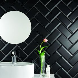 Biselado Black Tile